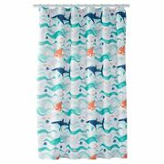 Disney Pixar Finding Dory Shower Curtain Jumping Beans Polyester 70 X 72 New