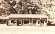 Buckley Bros General Store Gas Station Old Pumps Silver Plume,co Rppc Postcard