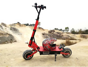 Adult 5000w Dual Motor Long Range Electric 11inch Off Road Scooter Motorcycle