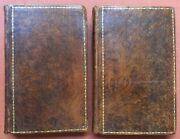 Joseph Attributed To Haslewood / Secret History Of The Green Room 2 Volumes 1792