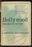 Hortense Powdermaker / Hollywood The Dream Factory An Anthropologist Signed 1st