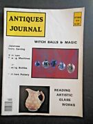Antiques Journal Japanese Ivory Carving Magic Witch Balls Magic Sewing Machines