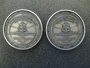 Rare 2 X 1973 City Of Kamloops District Coin Club Bc Amalgamation Silver Rounds