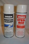Dykem 80096 82038 Red Steel Layout Fluid + Remover And Prep 12 Oz. Kit