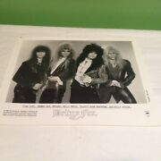 Rare Britny Fox 8x10 Promo And 3 Full Bios Michael Kelly Johnny Dee Billy Childs