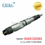Erikc Common Rail Diesel Injector 0445120393 Nozzle 0445 120 393 For Faw J6 8.6d