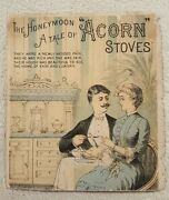 Vintage Antique Victorian Trade Card Advertising Acorn Stoves