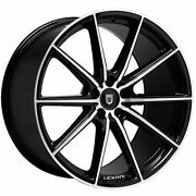 20 Lexani Wheels Css-10 Staggered Rims Tires Fits Audi Infinity Acura Bmw Cts