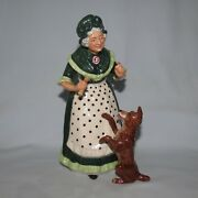 Royal Doulton Figure Old Mother Hubbard Hn2314 Early Piece Great Condition