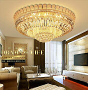 European Court Style K9 Crystal Ceiling Lamps Led Chandeliers Lighting Fixture