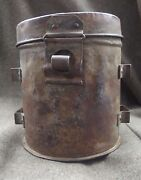 Ww1. Austro-hungarian/german Gas Mask Canister Can Box Container