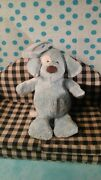 Baby Gund Blue White Puppy Dog Spunky Soothing Sounds Friends 4036960 Toy Plush