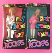Barbie And Ken The Rockers Nrfb 1986