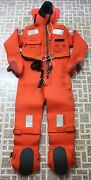 Unitor Immersion Suit Aro V20 140 With Head Support And Heavy-duty Harness