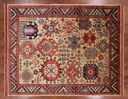 Hand Knotted Fine Turkmen Area Rug 8and039 2 X 9and039 8 - P9381