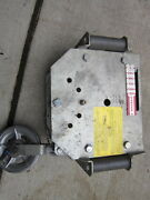 Hubbell Chance Three-phase Boom Lift Boom Adapter Load Monitor