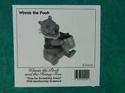 New Box Disney Wdcc Winnie The Pooh And The Honey Tree Time For Something Sweet