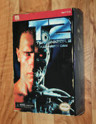 Neca Reel Toys Video Game Appearance Action Figure Terminator 2 T2 Arnold Deluxe