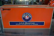 Lionel 6-28058 Ny, Nh And Hartford Mountain 4-8-2 Steam Engine And Tender - New