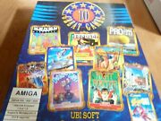 Ten Great Games From Ubi Soft For The Amiga-cib_low Price+free Shipping