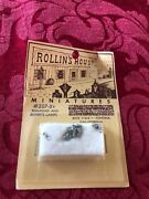 Vintage Nos Rollin's House Miniatures 207-89 Railroad And Miner's Lamps