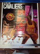 Vintage Rare 1970 Cleveland Cavaliers Poster Promotional Inc Usa Printed Rare