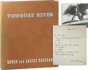 Rosskam Towboat River 1st Ed 1948 Inscribed And Signed To Ben And Bernarda Shahn