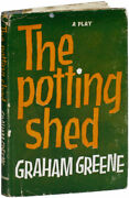 Graham Greene The Potting Shed Play In 3 Acts 1st Heinemann Ed/dj 1958 F/vg