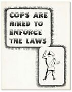 Frank Cieciorka Cops Are Hired To Enforce The Laws S.f. Peopleand039s Press 1969