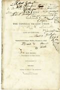 Ely Moore Address Delivered Before The General Trades' Union Of Nyc 1st Ed 1833