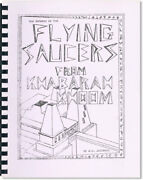 Lucchesi Flying Saucers From Khabarah Khoom Near Fine Condition [ufos]