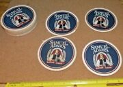 Sam Adams Bar Coasters Beer Bottle Man Cave 20 Count. Free Shipping