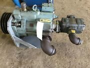 Nachi Piston Pump With Mounting Plate And 4 Curve Pulleys And Other Attachments