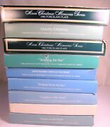 Lot Of 9 Avon Christmas Collector Plates - 1974 Thru 1981 And 1983 - With Boxes