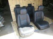 Nappa Leather Front Rear Power Heated Seat Set Seats Mercedes W221 S600 S550 Oem