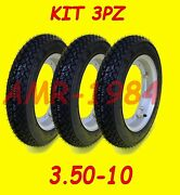 Set 3 Tyres Bee 50 All Wheels Mounted And Swollen+wheels+ Room 991200001