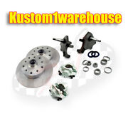 Vw Front 2.5 Dropped Lower Spindle Disc Brake Conversion Kit 5 X 4 1/2 Ford