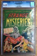 Strange Mysteries 1 1951 Off White Pages Walking Dead Horror Cgc 6.0 090192900