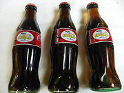 3- Coca Cola Bottles 2004 Womens Ncaa Final Four New Orleans