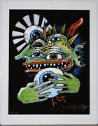 Rare Stanley Mouse Serious Eye Contact Signed / Numbered C.2010 Sold Out