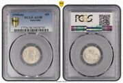 1950m Australia 6 Pence Pcgs Au58 Highly Demanded Collectible Coin