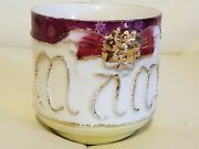 Vintage Shaving Shave Mug Cup Collectible Made In Germany