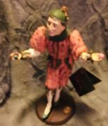 Limited Edition Duncan Royale 11 1/2andrdquo Jester/clown Figurine...numbered