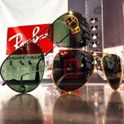 Ray-ban Rb 3025 Aviator Classic - Genuine Made In Italy Glass Lens