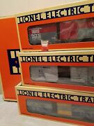 Lionel 6-19266, 6464 Boxcars, Series 111 = 3 Cars, All Mint With 3 Boxes