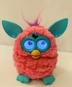 Furby Boom Hasbro 2012 Pink Teal Cotton Candy Interactive Electronic Toy