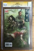 Nyx 7 Cgc Ss 9.2 Signed By Stan Lee And Joe Quesada