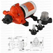 Seaflo 24v Fresh Water Pentry Pump 3.0gpm 11.6 Lpm Diaphragm 45psi For Boat Rv