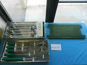 Stryker Howmedica Osteonics Surgical Orthopedic Revision Instrument Set W/ Tray