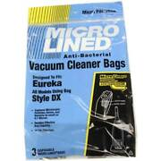 Eureka Style Dx Micro Allergen Vacuum Cleaner Bags By Dvc Made In Usa